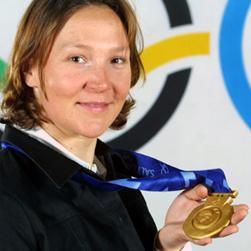 Carole Montillet, Médaillée d'or de la descente au JO d'hiver de Salt Lake City 2002 et cofondatrice de S2O