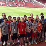 Expérience club pro Manchester United, Angleterre, visite du Old Trafford Stadium