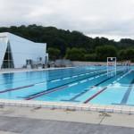 Stage natation à Aix-les-Bains, France - bassin 50m découvert accessible toute l'année