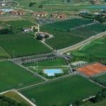 Stage rugby Paradiso Parc, beau complexe sportif avec terrains engazonnés