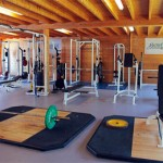 Stage rugby Browns, salle de musculation