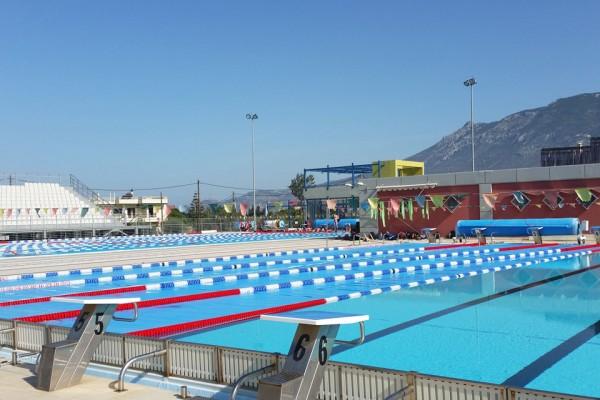 Stage natation Loutraki, Grèce