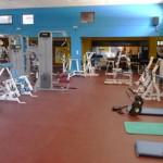 Stage natation à Loutraki en Grèce, complexe sportif, salle de musculation