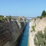 Stage natation à Loutraki en Grèce, visite possible Canal de Corinthe