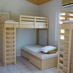 Stage natation à Loutraki en Grèce, complexe sportif, hébergement dans des bungalows 4 chambres 6 lits