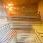stage natation Debrecen, sauna
