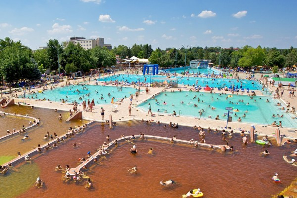 Stage natation à Hajduszoboszlo en Hongrie