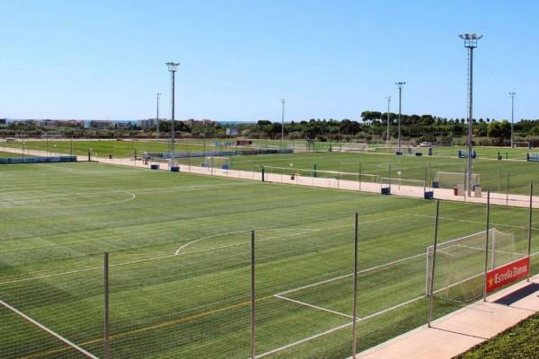 Tournoi football Barcelona Festival, à Salou