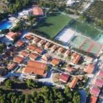 Stage football à Loutraki en Grèce