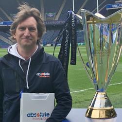 Ashley Gowing, associé et cofondateur de S2O , dirigeant de l'agence de Londres Absolute Sport Travel