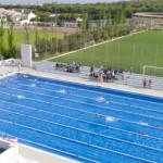 stage natation à Torremolinos, bassin 50m découvert