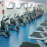 stage natation à Torremolinos, la salle de musculation