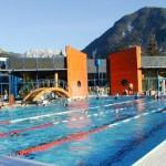 stage natation à Briançon, bassin 25m découvert en période estivale