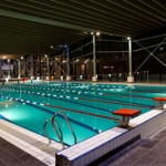stage natation à Morzine, bassin 25m couvert
