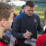 Expérience club-pro Bath, rencontre avec un joueur pro