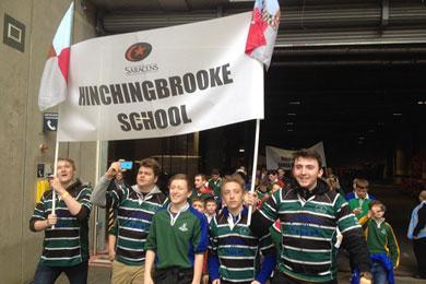 Expérience club-pro Saracens, accueil d'écoles et clubs - section rugby