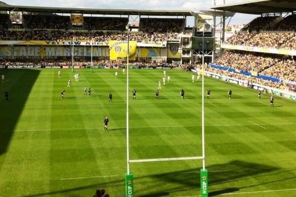 Club pro rugby ASM Clermont Ferrand
