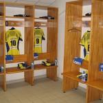 Expérience club-pro ASM Clermont Ferrand, vestiaires