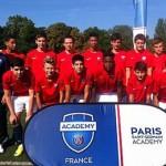 Expérience club-pro à PSG Academy, entrainement au Camp des Loges avec le staff professionnel