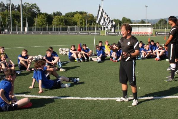 Club Pro à la Juventus de Turin, Italie