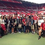 Expérience club pro Manchester United, Angleterre, visite du Old Trafford Stadium