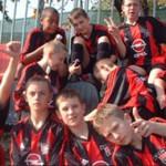Expérience pro club AC Milan