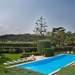 Stage football Veronello, jardin verdoyant et piscine