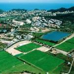 Stage football à La Manga en Espagne, grand complexe sportif et récréatif
