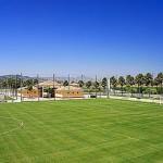 Stage football Oliva Nova, grand complexe hôtelier et sportif dont 4 terrains de football