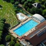 Stage natation à Aix-les-Bains, France - lac du Bourget