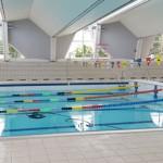 Stage natation à Aix-les-Bains, France - bassin 25m couvert