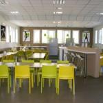 Stage natation à Dijon, hébergement en centre sportif à 750m cafétéria
