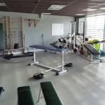 Stage natation à Dijon, salle de musculation
