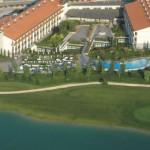 Stage rugby Paradiso Parc, beau complexe sportif et hôtelier au Nord de l'Italie