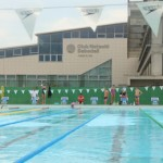stage natation à Sabadell, bassin 50m découvert