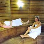 stage natation à Dieppe - sauna