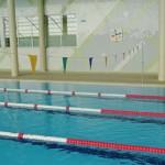 Stage natation à Porto, bassin 50m couvert 4 lignes profondeur 1m50