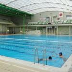 Stage natation à Porto, bassin 25m découvrable, profondeur 2m25, adapté synchro et waterpolo