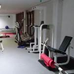 Stage natation à Porto, centre aquatique, petite salle de musculation