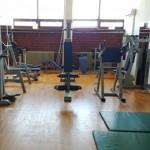 Stage natation Sisak en Croatie, salle de musculation au bassin