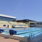Stage natation à Canet-en-Roussillon en France, bassin 50m découvert 8 lignes d'eau