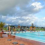 Stage natation à Piombino, Livourne, Italie