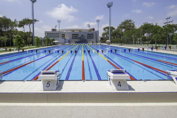 Stage natation à Belek, Turquie
